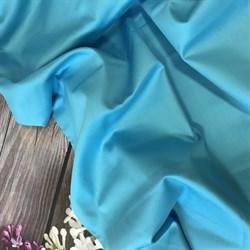 Сатин бирюзовый мерсеризованный - фото 4493