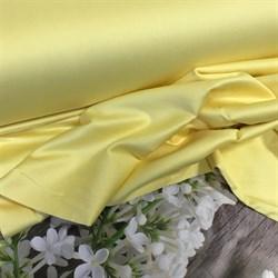 Сатин желтый мерсеризованный - фото 4555