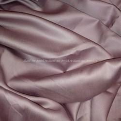 Сатин пыльная лаванда мерсеризованный - фото 4588