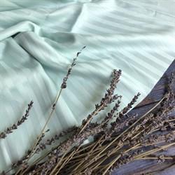 Страйп-сатин мерсеризованный мятный (Турция) - фото 5742