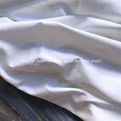 Сатин белый люкс 400 st 280см - фото 5778
