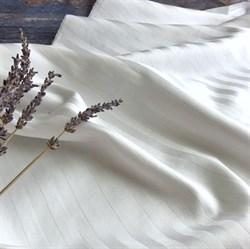 Страйп-сатин мерсеризованный белый (Турция) 280 см - фото 5949