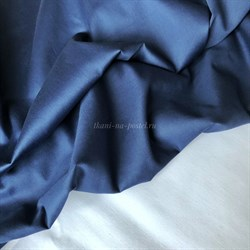 Мако-сатин Синий - фото 5970