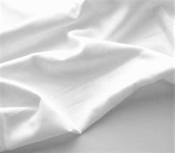 Поплин однотонный белый  - фото 6201