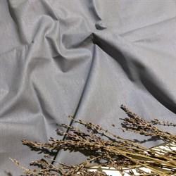 Поплин однотонный дымчато-серый - фото 6259