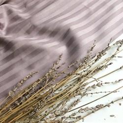 Страйп-сатин мерсеризованный бледно-лиловый - фото 6430