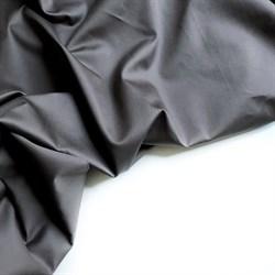 Сатин люкс темно-серый - фото 6476