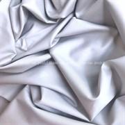 Сатин серебристо-серый