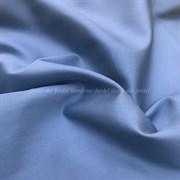 Сатин серо-голубой мерсеризованный