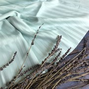 Страйп-сатин мерсеризованный мятный (Турция)
