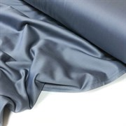 Сатин стальной серый мерсеризованный