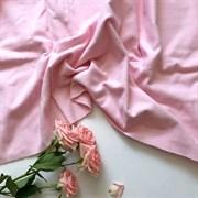 Фланель однотонная розовая