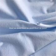Фланель однотонная светло-голубая