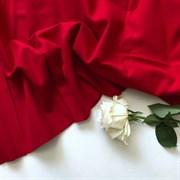 Фланель однотонная Красная
