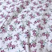 Фланель мелкие цветы на белом