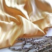 Страйп-сатин мерсеризованный золотой