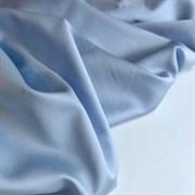 Тенсель с хлопком голубой